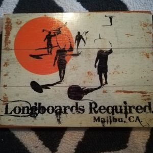 Longboards Required wall art